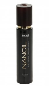pielęgnujący i regenerujący olejek do włosów Nanoil